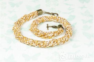 """Мастер-класс по изготовлению ожерелья из бисера """"Хомут"""" (бисерная низка)"""