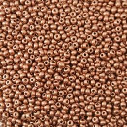 Бисер PRECIOSA 10/0 (50гр) 1сорт металлик стойкий медный арт.01770