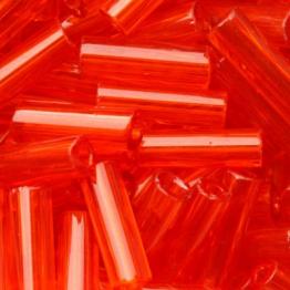 Стеклярус PRECIOSA (50гр) цвет оранжевый прозрачный арт.90030