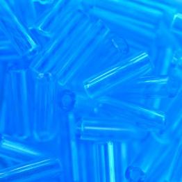 Стеклярус PRECIOSA (50гр) цвет голубой прозрачный арт.60010