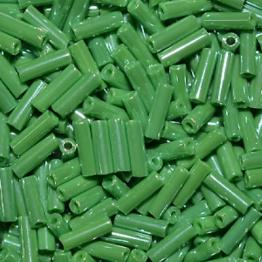 Стеклярус PRECIOSA (50гр) цвет зеленый жемчужный арт.58230