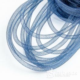 Ювелирная сетка для бижутерии d.4мм 1метр (синий темный)
