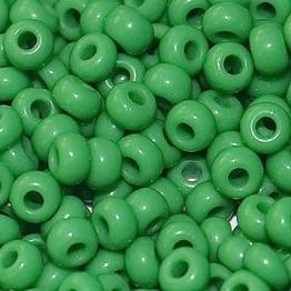 Бисер PRECIOSA 6/0 (50гр) цвет: зеленый керамика арт.53250