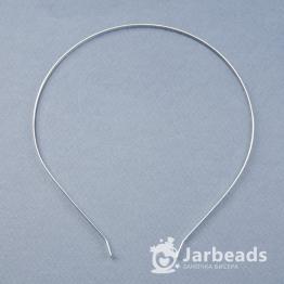 Основа для ободка металлическая 4мм (серебро)