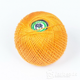 Пряжа Ирис ПНК им.Кирова 25гр (оранжевый темный) арт.0512