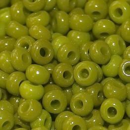 Бисер PRECIOSA 8/0 (50гр) цвет: зеленый керамика арт.53430