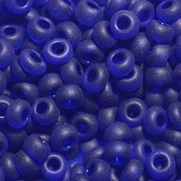 Бисер PRECIOSA 10/0 (50гр) 1сорт синий прозрачный матовый арт.30080m