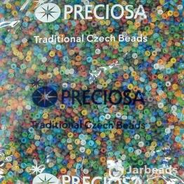 Бисер PRECIOSA 10/0 (50гр) 1сорт цвет: матовый микс