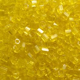 Рубка PRECIOSA 10/0 50грамм цвет: желтый прозрачный 80010