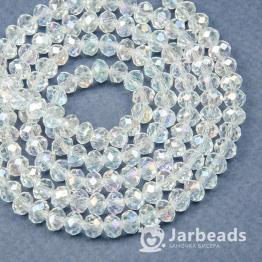 Кристаллы 5*6мм хрусталь радужный 10штук