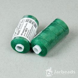 Нитки Джинсовые Полиэстер 20s/3 MICRON намотка 183м (зеленый) №215
