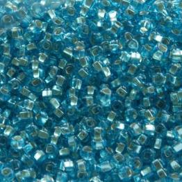 Бисер PRECIOSA 10/0 (50гр) 1сорт цвет: голубой огонек арт.67010kvo