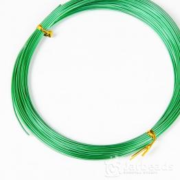Проволока d1мм, длина намотки 10м (зеленый)