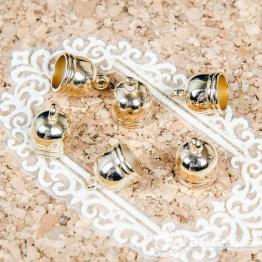 Колпачки литые пластиковые с петлей вн.d.8мм (золото) 2шт