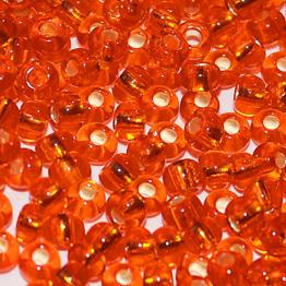 Бисер PRECIOSA 8/0 (50гр) цвет: оранжевый огонек арт.97030