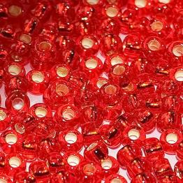 Бисер PRECIOSA 10/0 (50гр) 1сорт цвет: красный огонек арт.97070