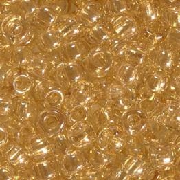 Бисер PRECIOSA 10/0 (50гр) 1сорт цвет: бежевый прозрачный люстр арт.48015
