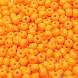 Бисер PRECIOSA 10/0 (50гр) 1сорт цвет: оранжевый арт.93110