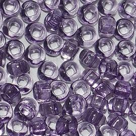 Бисер PRECIOSA 10/0 (50гр) 1сорт цвет: сиреневый прозрачный арт.01122
