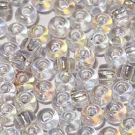 Бисер PRECIOSA 10/0 (50гр) 1сорт цвет: прозрачный с отливом арт. 58205