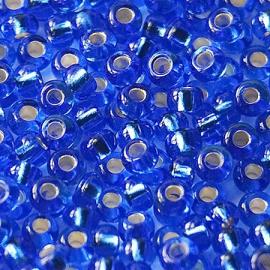 Бисер PRECIOSA 10/0 (50гр) 1сорт цвет: синий огонек арт.37050