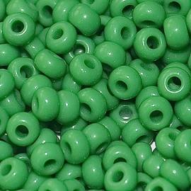Бисер PRECIOSA 10/0 (50гр) 1сорт цвет: зеленый арт.53250