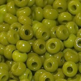Бисер PRECIOSA 10/0 (50гр) 1сорт цвет: зеленый оливковый керамика арт.53430