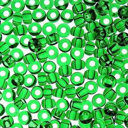Бисер PRECIOSA 10/0 (50гр) 1сорт цвет: зеленый прозрачный арт.50120