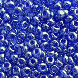 Бисер PRECIOSA 10/0 (50гр) 1сорт цвет: синий прозрачный блестящий арт.36080
