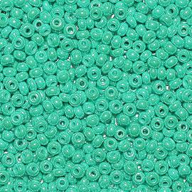 Бисер PRECIOSA 10/0 (50гр) 1сорт цвет: бирюзовый блестящий арт.68130