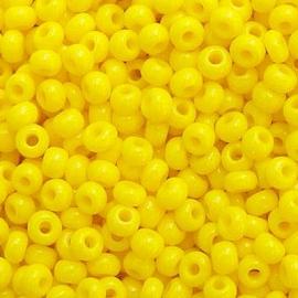 Бисер PRECIOSA 10/0 (50гр) 1сорт желтый керамика арт.83110