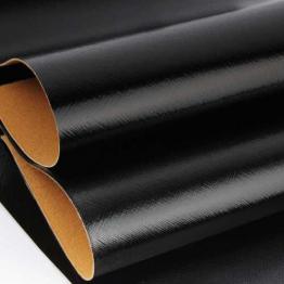 Заменитель кожи Гранж лоскут 20*30см (черный) арт.B50/65