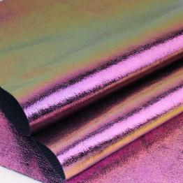 Заменитель кожи Хамелеон лоскут 20*30см (фиолетовый) арт.B280-185