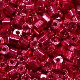 Рубка PRECIOSA 10/0 50грамм цвет: красный металлик 18398