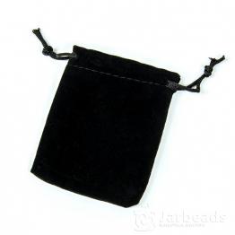 Мешочек бархатный 7*9см (черный)