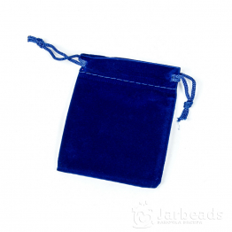 Мешочек бархатный 7*9см (синий)