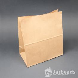 Крафт пакет фасовочный 24*14*28см (70гр/м)
