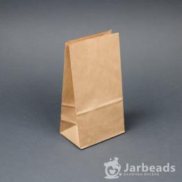 Крафт пакет фасовочный 10*7*19см (до 0,5кг, 70гр/м)