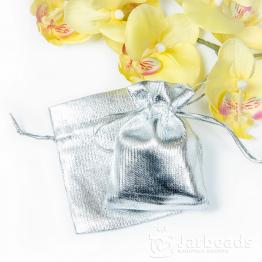 Мешочки тканевые 7*9см (серебряные)