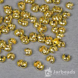 Кримп 4*5мм (золото) 10штук