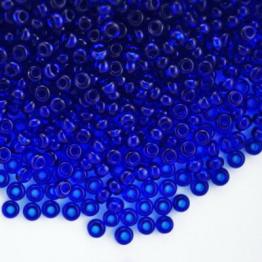 Бисер PRECIOSA 10/0 (50гр) 1сорт цвет: синиий прозрачный арт.60300