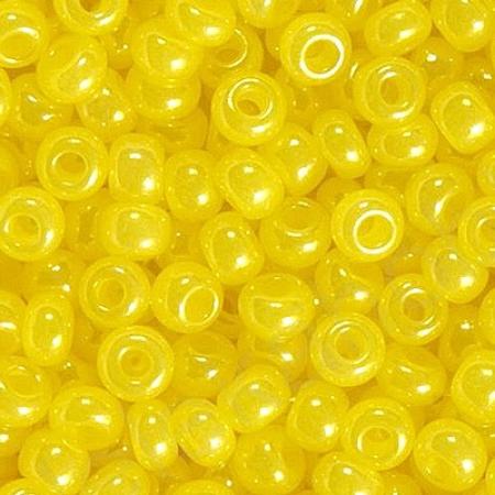 Бисер PRECIOSA 10 15гр 2сорт желтый 17186mel