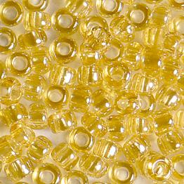 Бисер PRECIOSA 10/0 (15гр) 2сорт цвет: бежевый прозрачный блестящий арт.16020