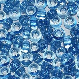 Бисер PRECIOSA 10/0 (50гр) 2сорт цвет: синий прозрачный арт.01132