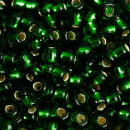Бисер PRECIOSA 10/0 (15гр) 2сорт цвет: зеленый огонек арт.57060