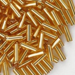 Стеклярус PRECIOSA (50гр) цвет золотой огонек арт.17050