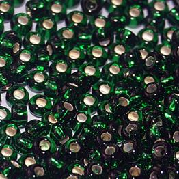 Бисер PRECIOSA 8/0 (50гр) цвет: зеленый огонек арт.57150