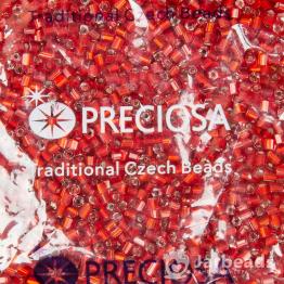 Рубка PRECIOSA 11/0 50грамм цвет: красный огонек 97070