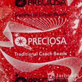 Рубка PRECIOSA 10/0 50грамм цвет: красный керамика 93170