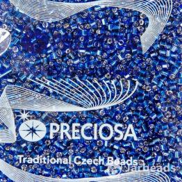 Рубка PRECIOSA 10/0 50грамм цвет: темно синий огонек 141081